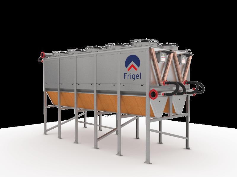 Adiabatic Cooler - Ecodry 3DK   Frigel