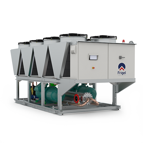 Air Cooled Chiller with Screw Compressor