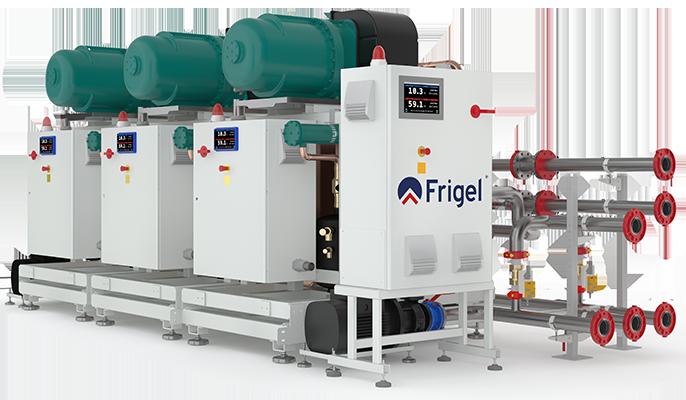 Integrated Cascade Refrigeration System