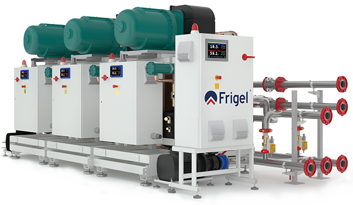 Integrated Cascade Refrigeration System
